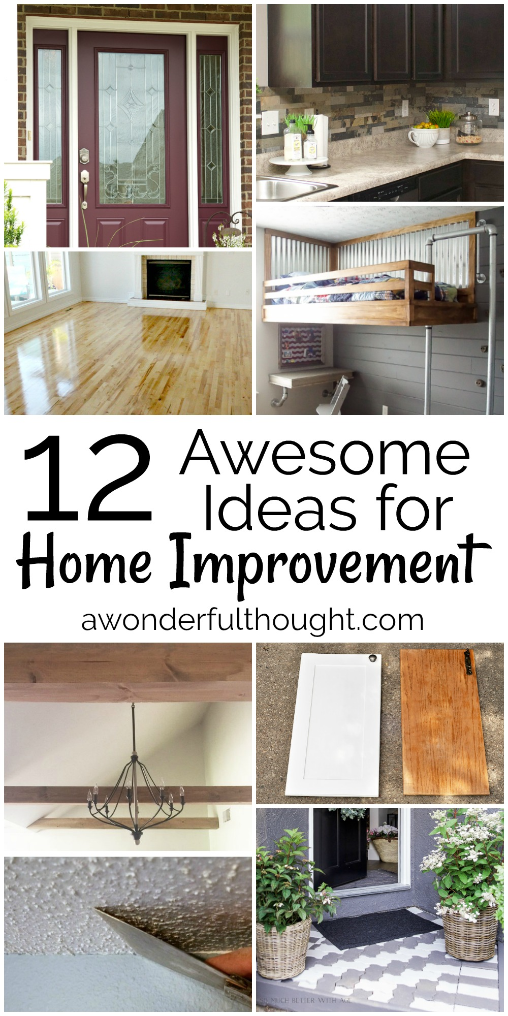 12 awesome home improvement ideas Home improvement ideas