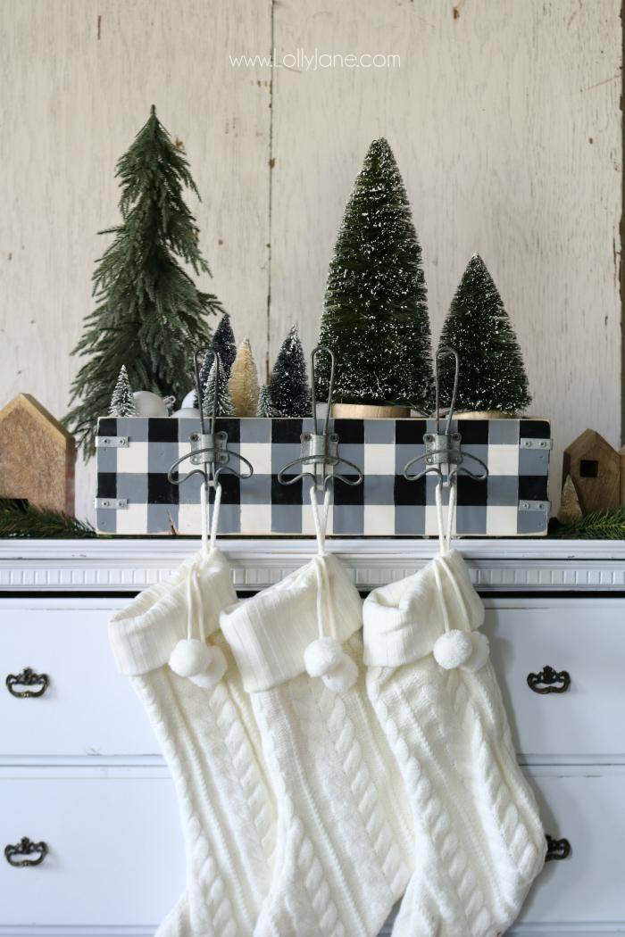 Christmas Stocking Decorating Ideas