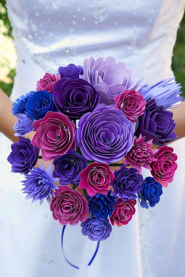 beautiful paper flower crafts